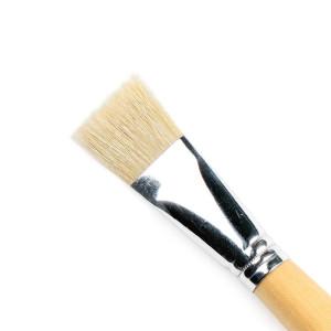 Pędzel szczecinowy, naturalny Renesans J6028R-10