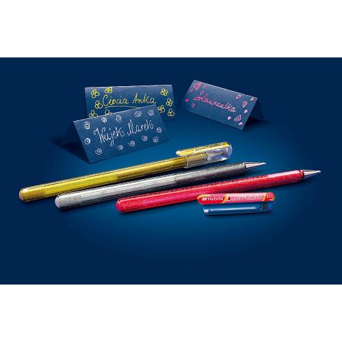 Zestaw długopisów żelowych Dual Metallic CPXZ - Pentel