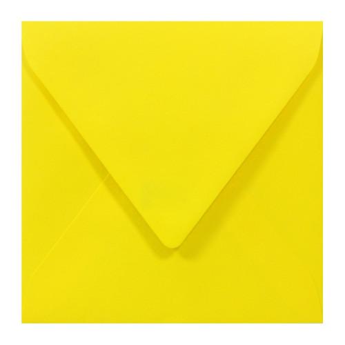 Koperta Sirio Color 115g K4 Limone, żółta