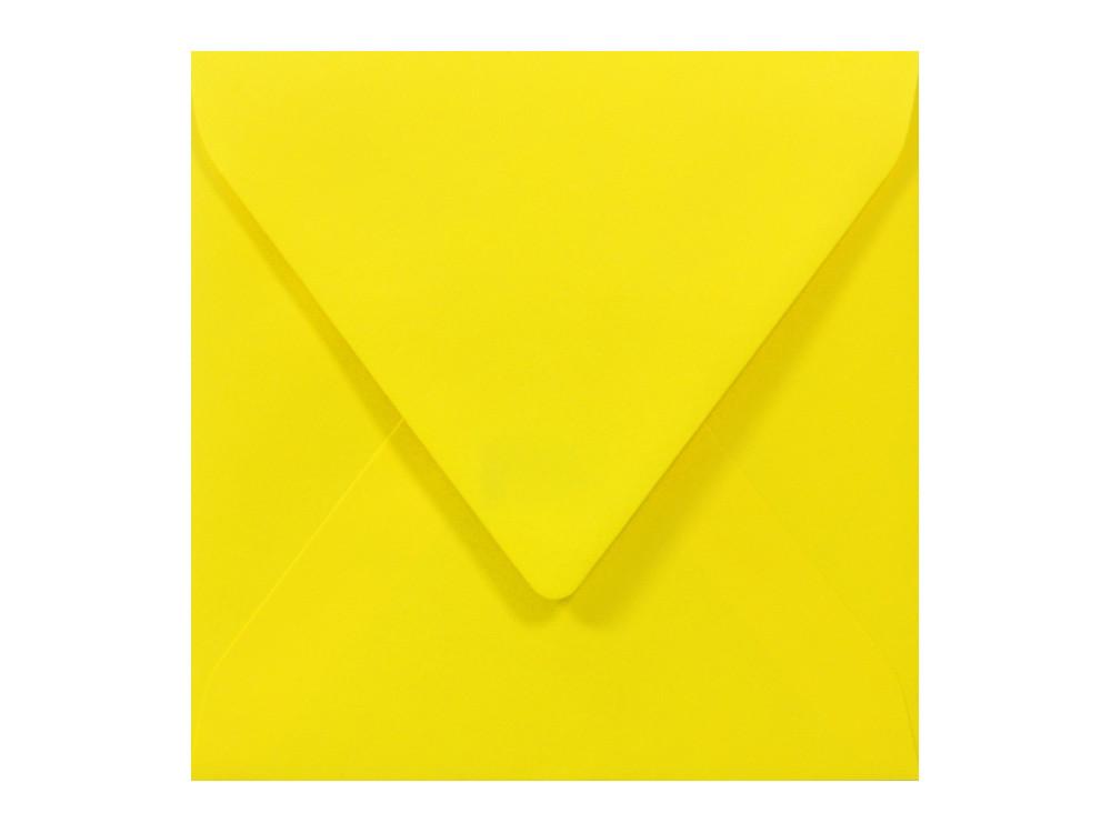 Koperta Sirio Color 115g - K4, Limone, żółta