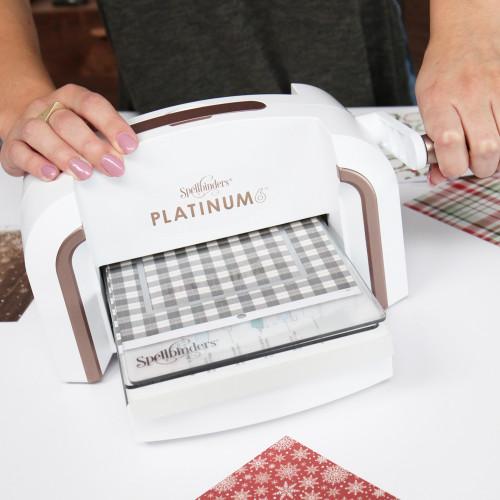 """Maszyna tnąco - wytłaczająca - Spellbinders, Platinum 6"""""""