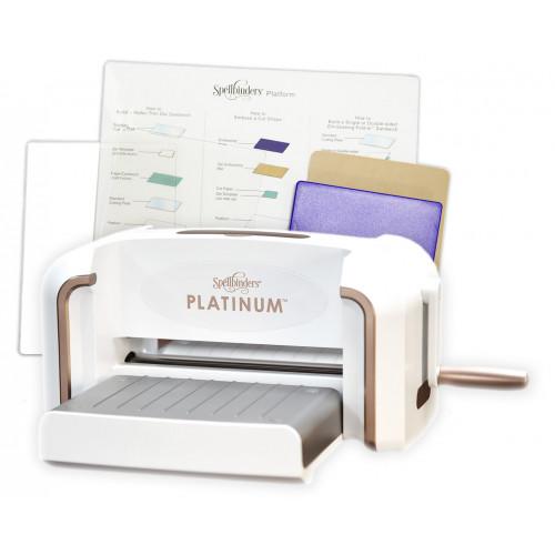"""Maszyna tnąco - wytłaczająca - Spellbinders, Platinum 8,5"""""""