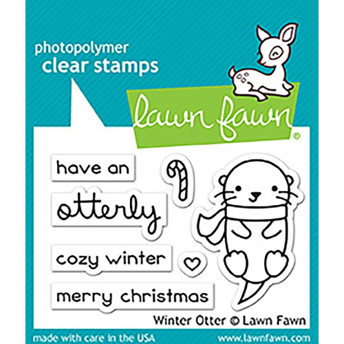 Stempel Lawn Fawn - Winter otter