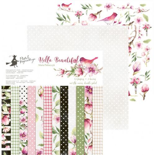 Zestaw papierów Piątek Trzynastego - Hello Beautiful 30x30 cm