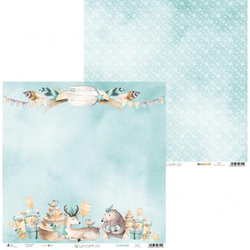 Papier 30 x 30 cm - Piątek Trzynastego - Cute & Co. 04