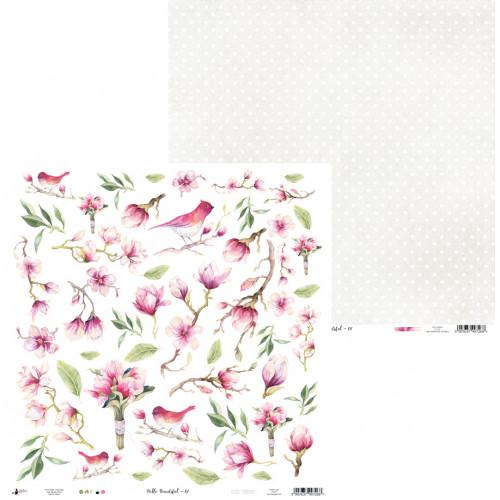 Papier 30 x 30 cm - Piątek Trzynastego - Hello Beautiful 07