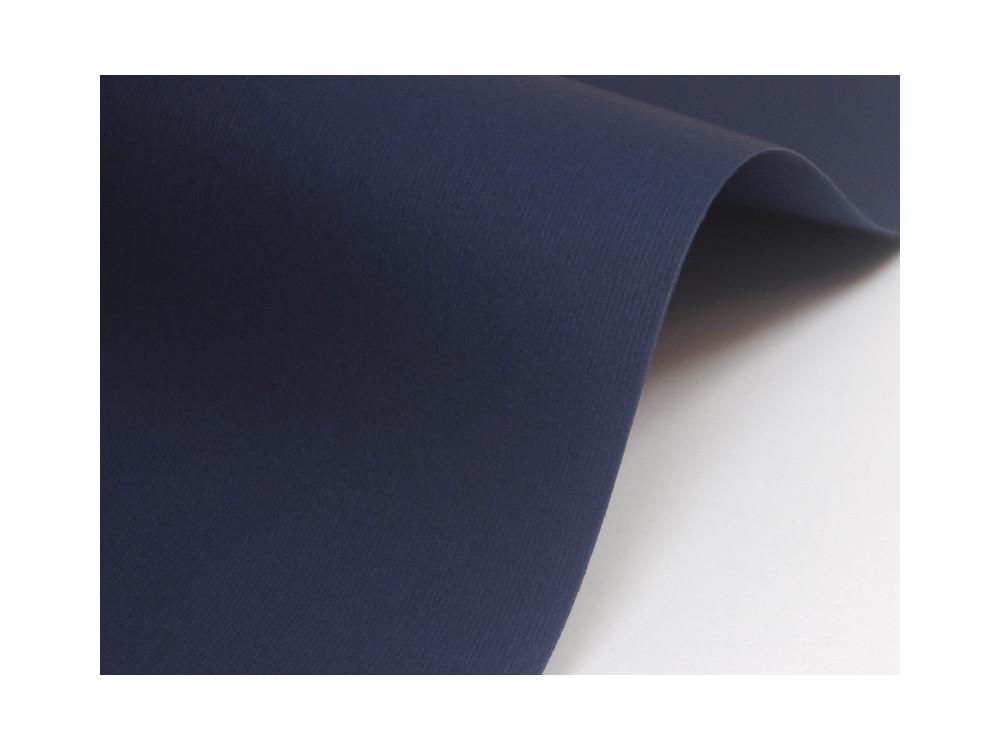 Papier Nettuno 215g - Blue Navy, granatowy, A4, 20 ark.
