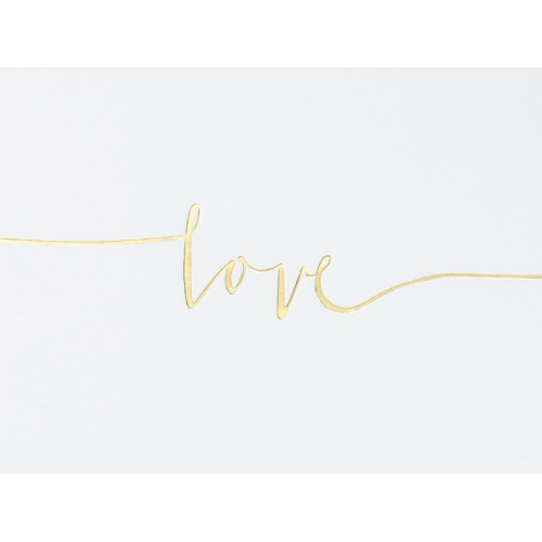 Księga Gości, Love 24 x 18,5 cm, 22 kartki
