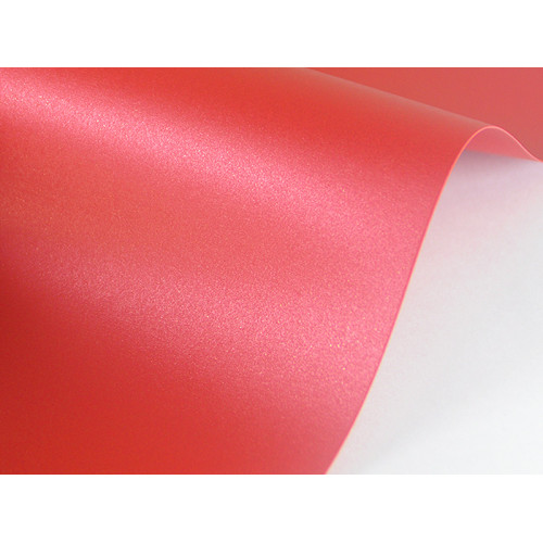 Papier Sirio Pearl 125g A4 Red Fever 20 ark.