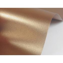 Sirio Pearl Paper 125g - Fusion Bronze, brown, A4, 20 sheets