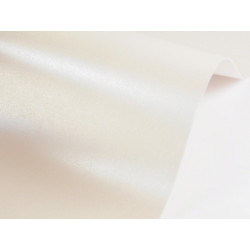 Papier Sirio Pearl 230g - Oyster Shell, kremowy, A4, 20 ark.