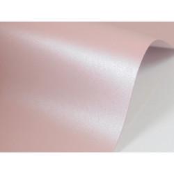 Papier Sirio Pearl 300g - Misty Rose, różowy, A4, 20 ark.