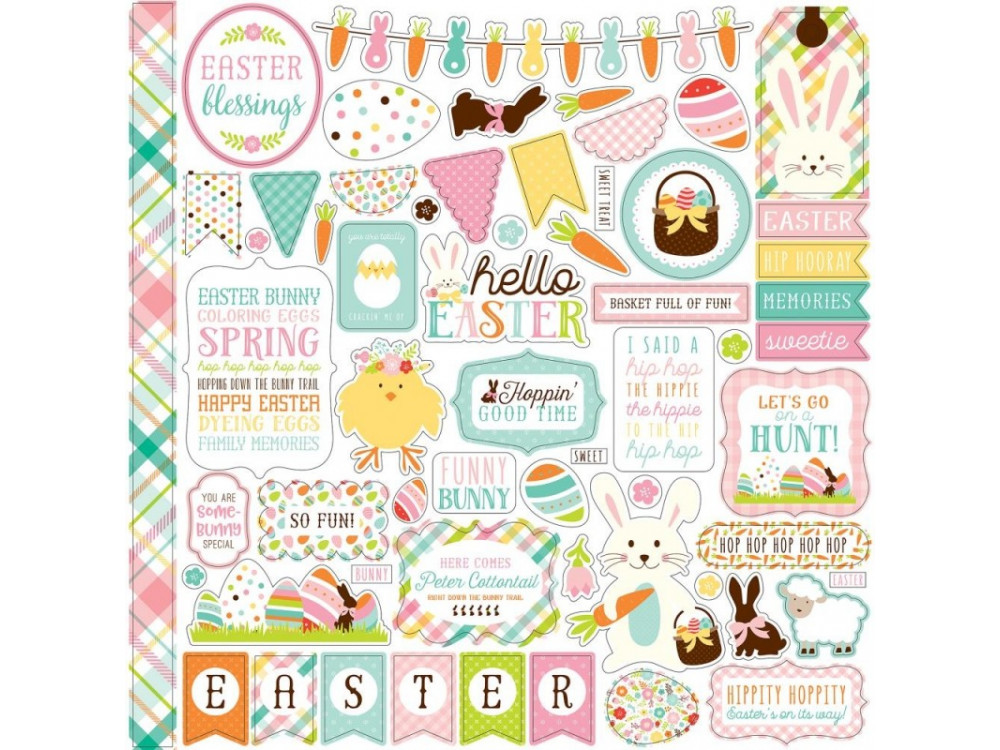 Stickers 30x30 Element - Hello Easter