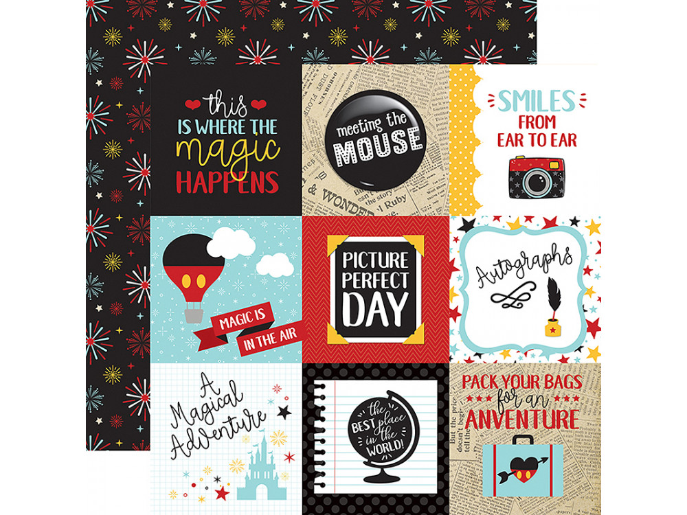 Echo Park Paper - Wish Upon a Star - 4 x 4 Journaling Cards