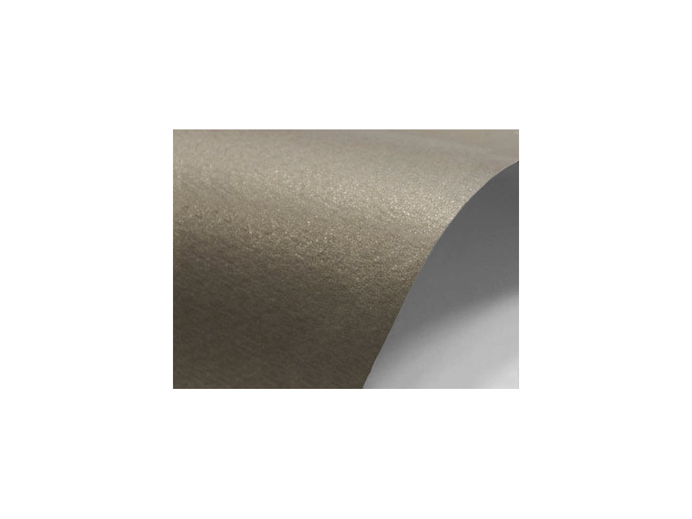 Sirio Pearl Paper Merida 220g - Kraft, brown, A4, 20 sheets