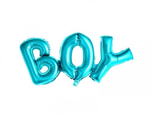 Foil balloon Boy - blue, 67 x 29 cm