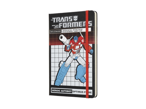 Notatnik Moleskine Transformers Optimus Prime Ruled Large