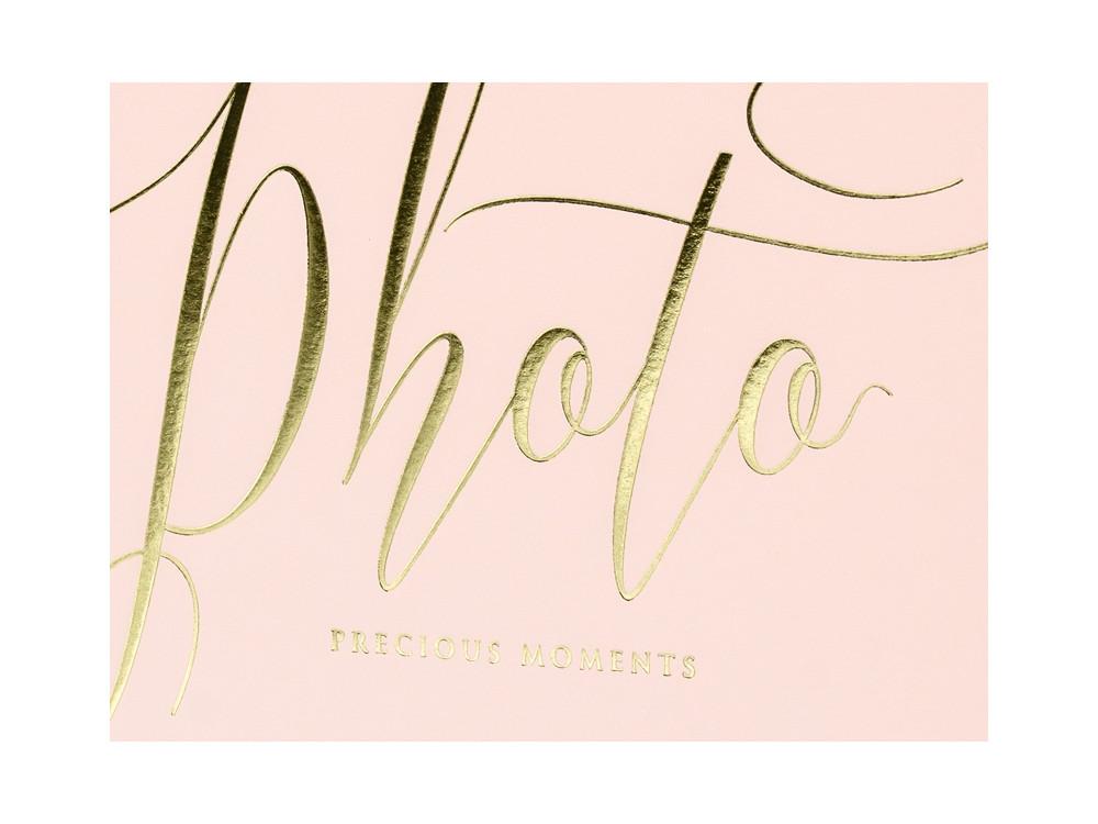 Album na zdjęcia Precious moments - jasnoróżowy, 22 kartki