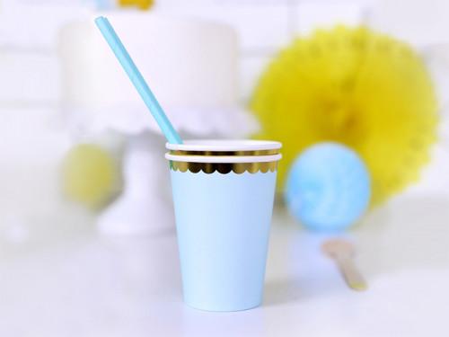 Cups light blue 220 ml 6 pc.