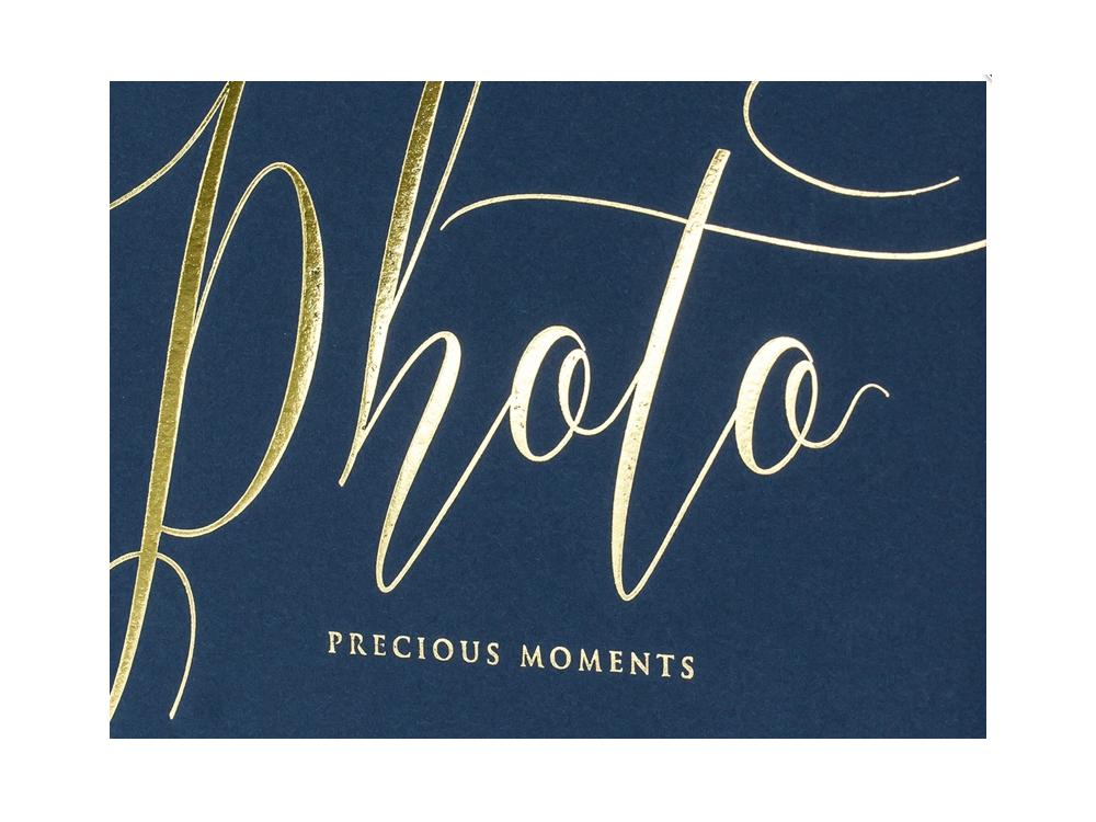 Photo album Precious moments - navy blue, 22 sheets