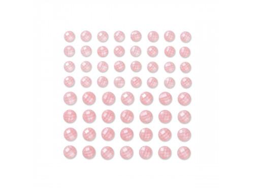 Kryształki samoprzylepne 8 mm 10 mm - cream, 60 szt.