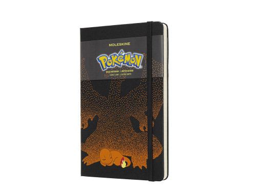 Notatnik Moleskine Pokemon Charmander Ruled Large