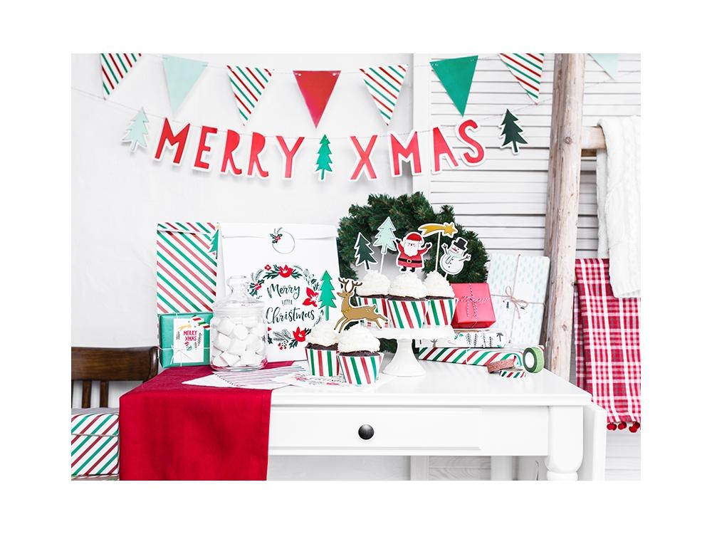 Banner Merry Xmas, 15 x 120 cm, 1 pc