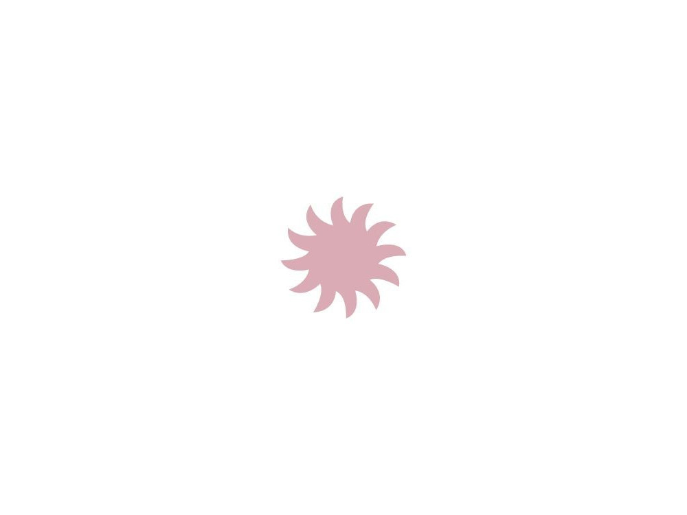 Dziurkacz ozdobny Słońce 036 - DpCraft - 1,6 cm