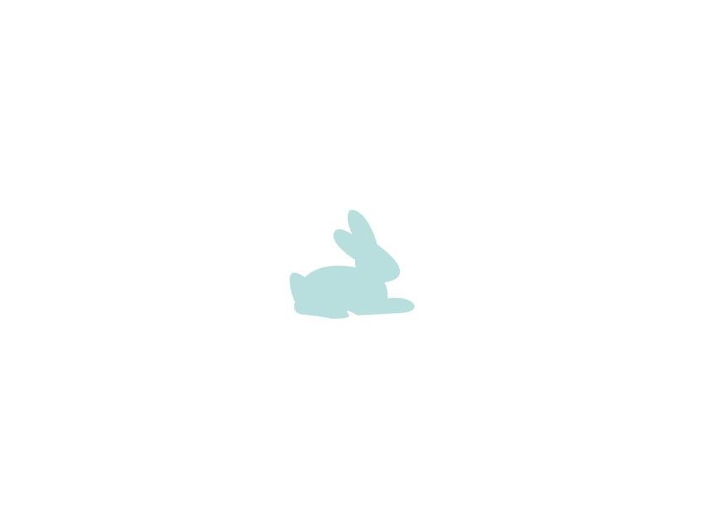 Craft Punch Rabbit 054 - DpCraft - 1,6 cm