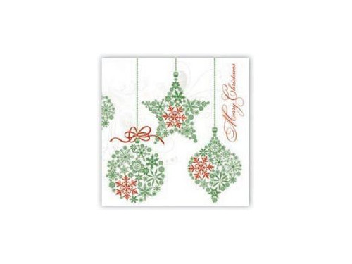 Christmas Napkins.Christmas Napkins 20 Pcs Slgw012603