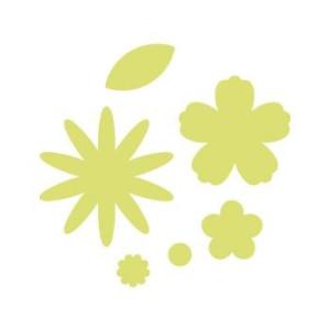 Dziurkacz 6,3 cm 283 - Kwiatki