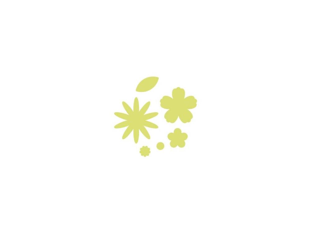 Dziurkacz ozdobny Kwiatki - DpCraft - 6,3 cm