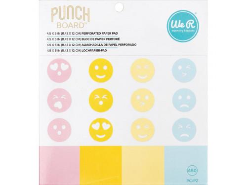Zestaw papierów 11,4 x 12 cm - We R - Emoji
