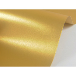 Sirio Pearl Paper 125g - Aurum, gold, A4, 20 sheets