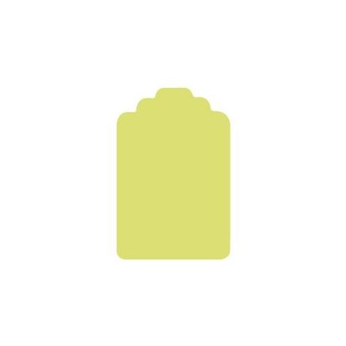 Dziurkacz ozdobny Metka 018 - DpCraft - 7,5 cm