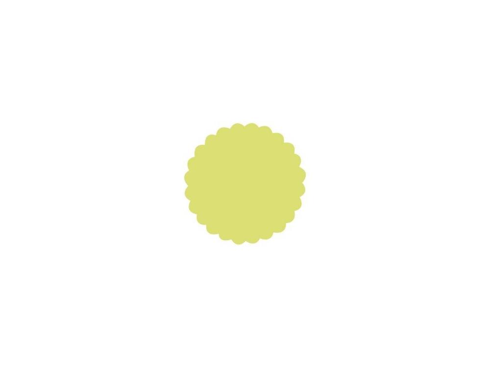 Dziurkacz ozdobny Koło z falbanką 109 - DpCraft - 7,5 cm