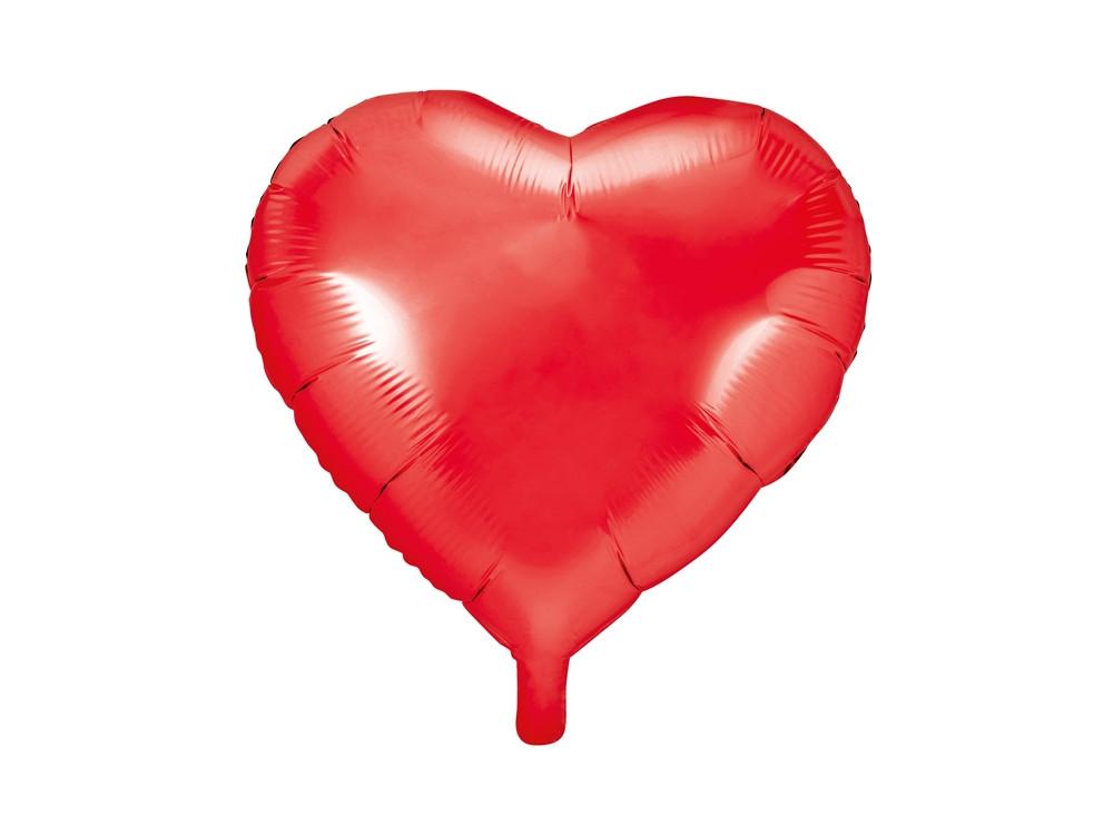Foil balloon Heart - red ,61 cm