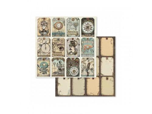 Zestaw papierów 30x30 Voyages Fantastiques - Stamperia