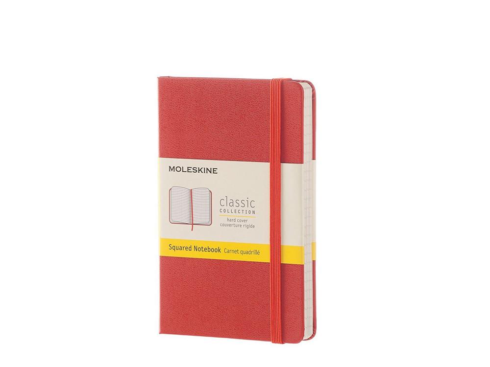 Squared Coral Notebook - Hard - Pocket - Moleskine