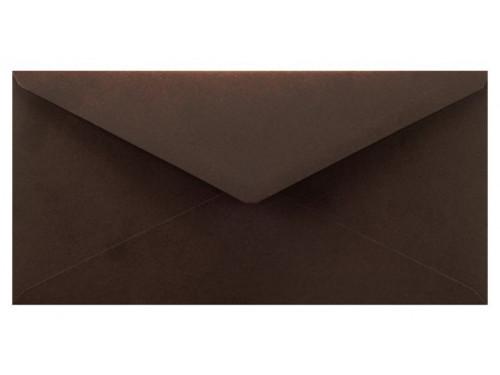 Koperta Sirio Color 115g DL Cacao, brązowa