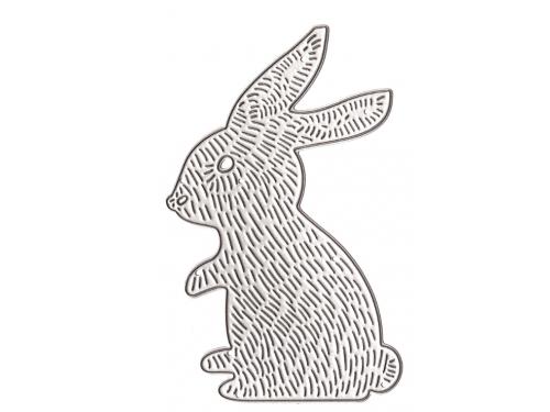 Wykrojnik - Króliczek 6 x 9,5 cm