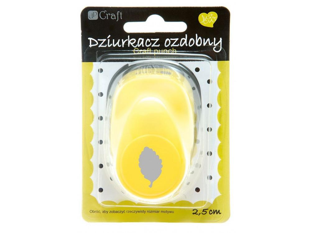 Dziurkacz ozdobny Liść Brzozy - DpCraft - 2,5 cm