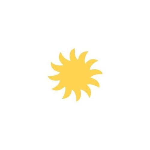 Dziurkacz ozdobny Słońce - DpCraft - 2,5 cm