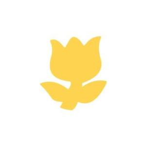 Dziurkacz ozdobny 2,5 cm 037 - Tulipan