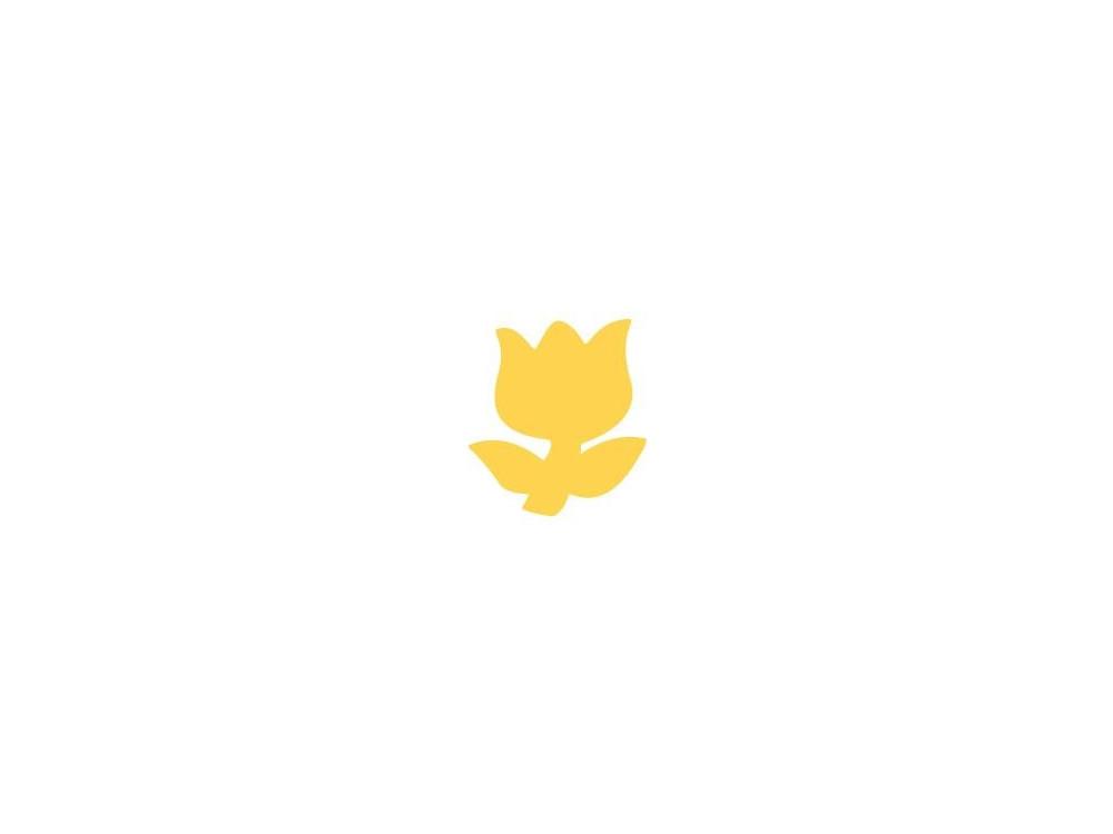 Dziurkacz ozdobny Tulipan 037 - DpCraft - 2,5 cm