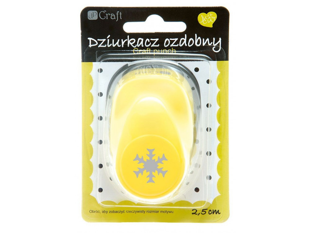 Craft Punch Snowflake 072 - DpCraft - 2,5 cm