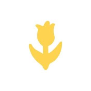 Dziurkacz ozdobny 2,5 cm 082 - Tulipan