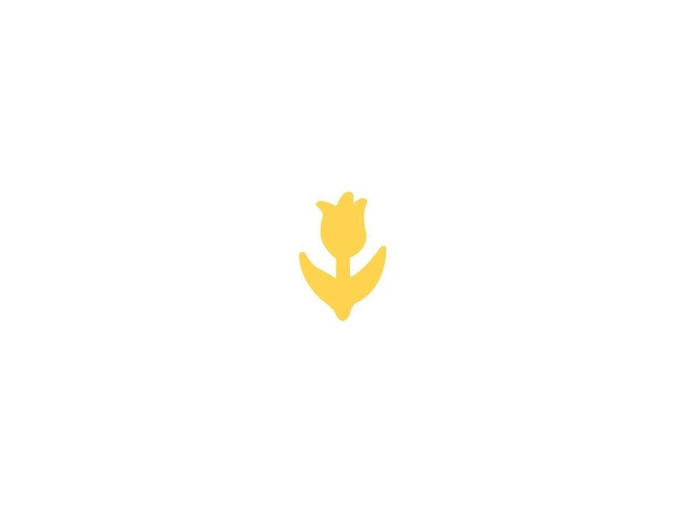 Dziurkacz ozdobny Tulipan 082 - DpCraft - 2,5 cm