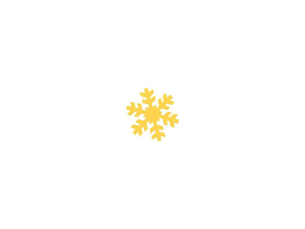 Craft Punch Snowflake 118 - DpCraft - 2,5 cm