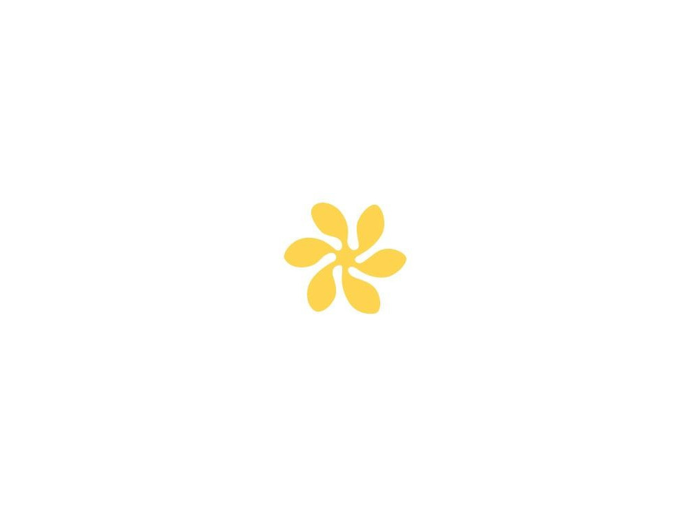 Craft Punch Floral Romance - DpCraft - 2,5 cm